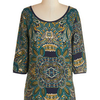 ModCloth Mid-length 3 Merry Music Making Top