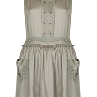 Crochet Heart Pocket Dress - New In This Week  - New In
