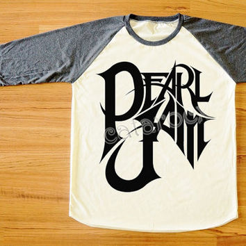 Pearl Jam T-Shirt Alternative Rock Shirt Hard Rock T-Shirt Long Sleeve Tee Shirt Women T-Shirt Men T-Shirt Unisex Tee Baseball Shirt S,M,L