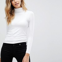 ASOS The Turtleneck Long Sleeve Top at asos.com