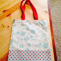 Baking Themed Tote Bag from Sew Crafty Laboratories