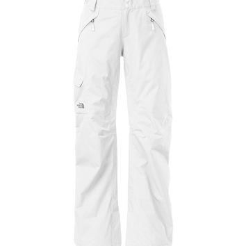 The North Face Women's Freedom Insulated TNF White Ski Pant