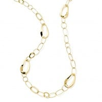 Glamazon® 18K Gold Cherish Chain Necklace 40""