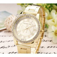 iOffer: MICHAEL KOR WATCHES WOMENS/MENS MK_WATCH ROSE GOLD for sale