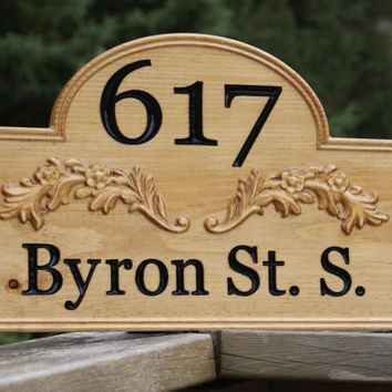 Personalized Home Address Sign Custom House Address Plaque Housewarming Gift