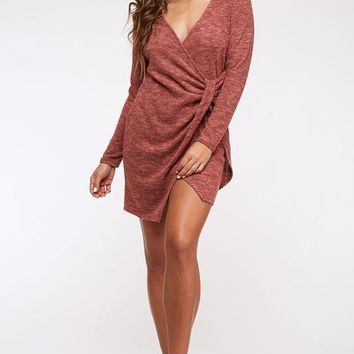 Cinnamon Knit Dress