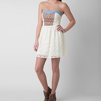 Flying Tomato Lace Tube Top Dress