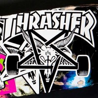 Thrasher Magazine Thrasher Skategoat Big Board Sticker
