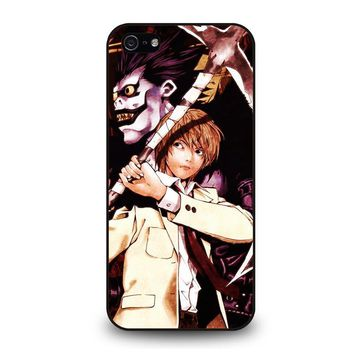 DEATH NOTE RYUK AND LIGHT iPhone 5 / 5S / SE Case Cover