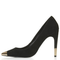 GOLLY Metal Toe Court Shoes - Black