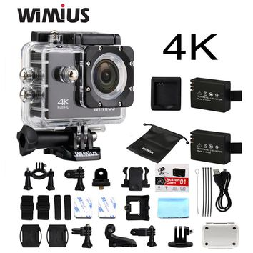 4K WiFi Sports Action Camera