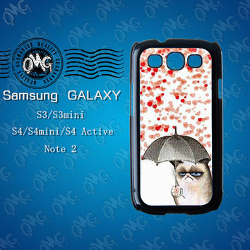 Cat,Samsung Galaxy S3 case,Samsung Galaxy S4 case,Samsung Galaxy Note2 case,Samsung Galaxy S4 Active case,S3 mini case,S4 mini case