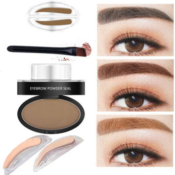 Waterproof Eyebrow Shadow Enhancer Kit