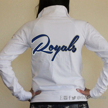 ROYALS Cadet Jacket, glittery ladies' light-weight jacket, your choice of sparkle color