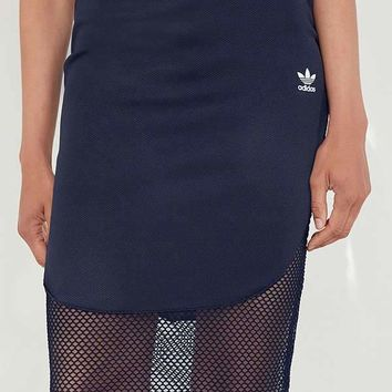 adidas Originals Osaka Fishnet Midi Skirt