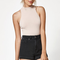 Lisakai Mock Neck Cropped Tank Top at PacSun.com
