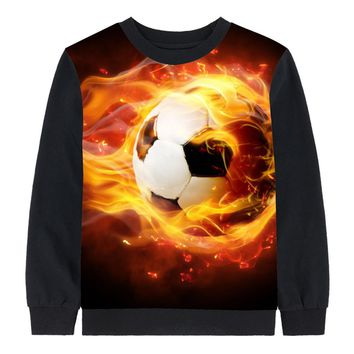 boy clothing tees autumn kids tops baby girl brand Long sleeve tops child football Children clothing kids t shirt children