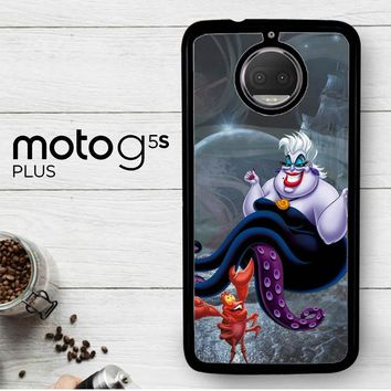 Ursula Octopus Little Mermaid D0096  Motorola Moto G5S Plus Case