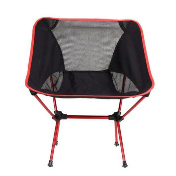 DCCKL72 Fast Delivery Ultra Light Portable fishing Chair Folding Fishing Chair Seat Stool Camping Hiking Gardening Pouch chair H1E1
