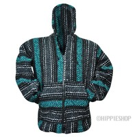 Zip Up Baja - Ocean Hoodie on Sale for $24.95 at HippieShop.com