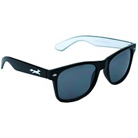 Sly Fox Two Tone Sunglasses in Black and White by Country Club Prep