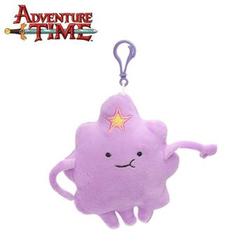15cm Purple Lump Space Princess Plush Keychain Adventure Time Toy Clouds Plush Soft Stuffed Animal Dolls Toys Party Supplies