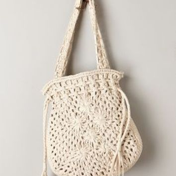 Macrame Tote by Anthropologie