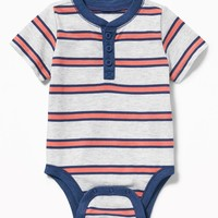 Henley Bodysuit for Baby | Old Navy