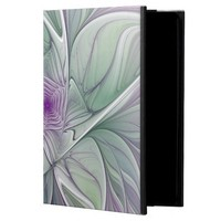 Flower Dream, Abstract Purple Green Fractal Art Powis iPad Air 2 Case