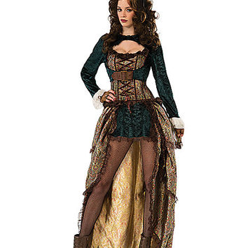 Madame Steampunk Adult Womens Costume - Spirithalloween.com