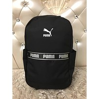 PUMA 2018 new men and women fashion student bags F-A30-XBSJ Black