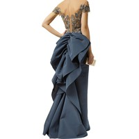Marchesa Embellished Short Sleeve Full Gown | Harrods.com