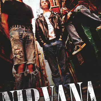 Nirvana Post-Modern Portrait Poster 24x36