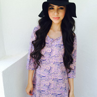 Girl In Disguise Dress- Lilac