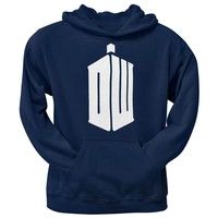 Doctor Who - DW Tardis Pullover Hoodie