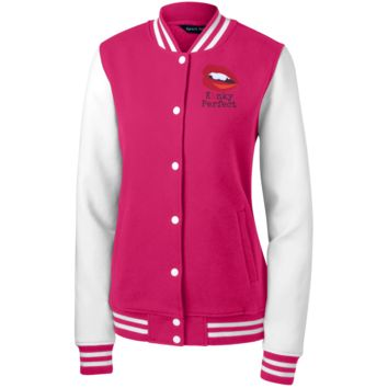 KP Sexy Fleece Letterman Jacket