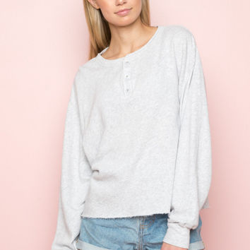 Allie Fleece Top - Basics