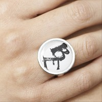 Be quote ring Inspirational jewelry ring