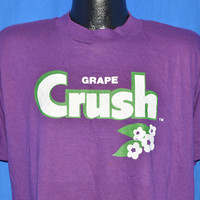 80s Grape Crush Soda Pop Purple t-shirt Large