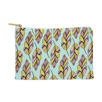 Allyson Johnson Native Feathers Pouch