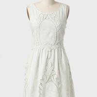 Blooming Lace Dress In Mint By Black Sheep