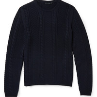 Gucci - Cable-Knit Crew Neck Sweater | MR PORTER