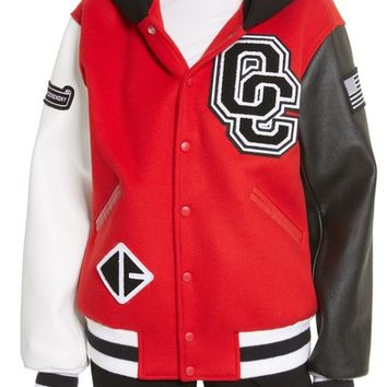 Opening Ceremony Hooded Varsity Jacket (Limited Edition) | Nordstrom
