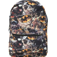 DC Comics Batman Action Print Backpack