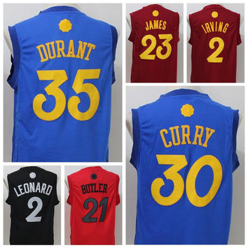 35 Kevin Durant Jersey 2016 Christmas Day Basketball Jerseys 2017 New 30 Stephen Curry Jersey Shirt Blue 11 Klay Thompson 23 Draymond Green