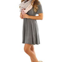 Santa Monica Dress: Gray | Hope's