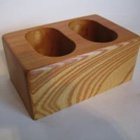 Lovely Remote Control Glasses Mobile Phone Stand made from Japanese Timber