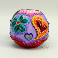 Love box of the day of the dead ring box RB0011