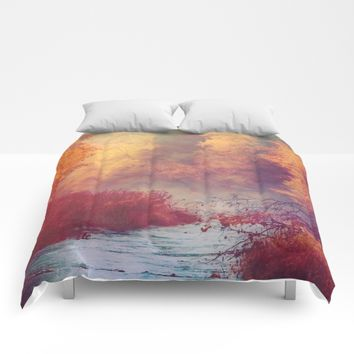 Dreams Remembered Comforters by Faded  Photos