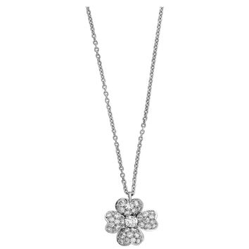 Van Cleef & Arpels Platinum Diamond Cosmos Necklace